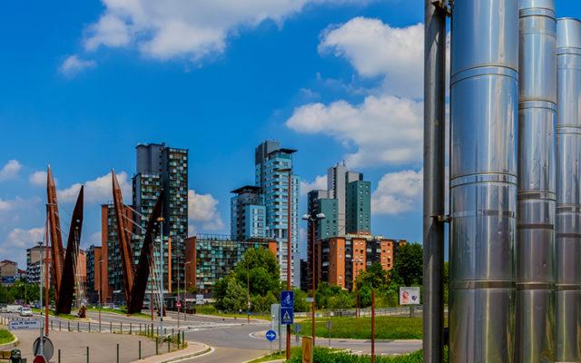 Michelin Towers: Michelin Area